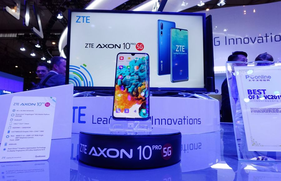 ZTE launches its first 5G smartphone in the Chinese market