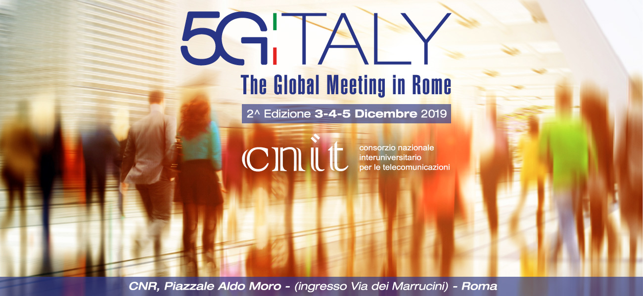 5G Italy 2019 – The Global Meeting in Rome