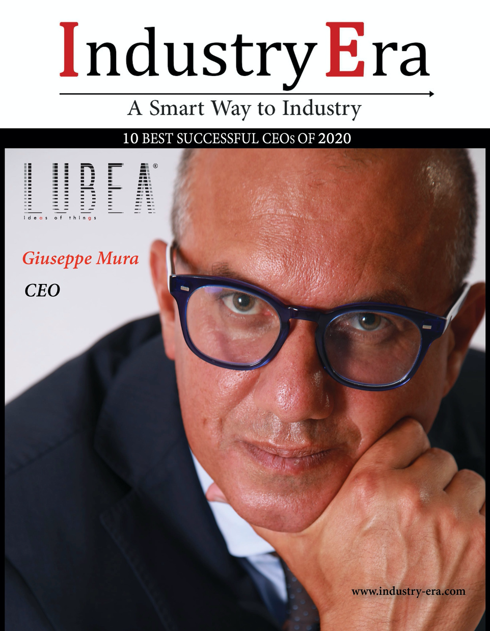 Giuseppe Mura, CEO of LUBEA, is awarded among the top 10 CEOs of 2020!