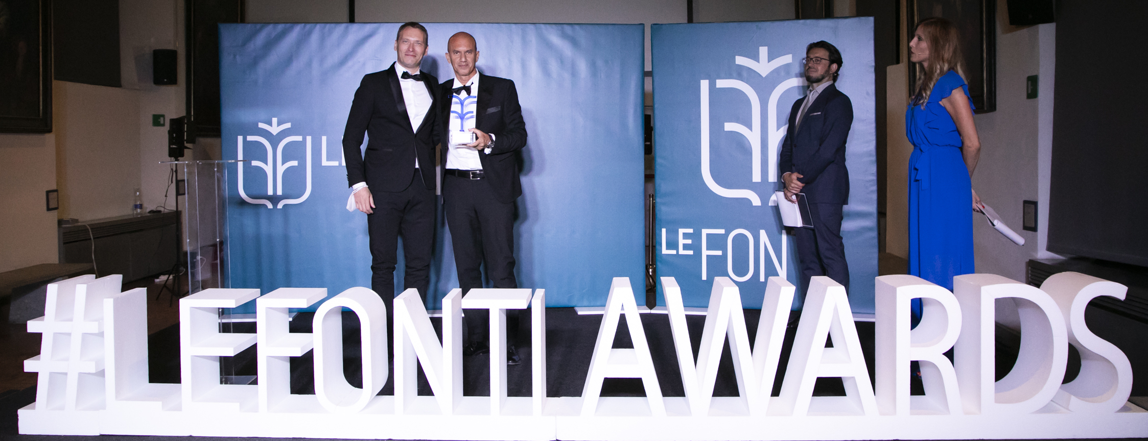 """LUBEA is awarded as Italian excellence in the category """"Innovation & Leadership – TLC Consulting"""" by the prestigious and recognized group of Le Fonti – Milan 08 July 2021 Diocesan Museum"""
